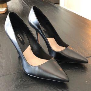 Black classic Zara high heels. Great condition!